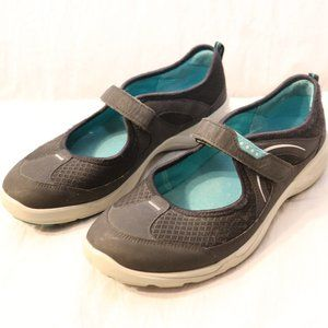 Ecco Black Mary Jane Athletic Shoes 41